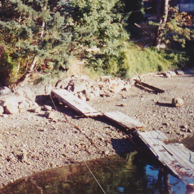 Old docks strung together