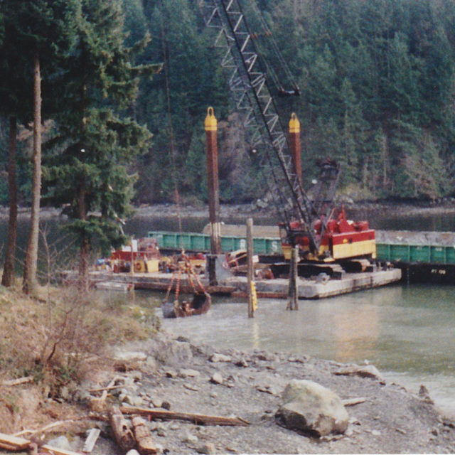 Dredging the east end