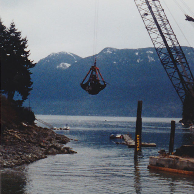 Pulling out the remains of Ripple Rock