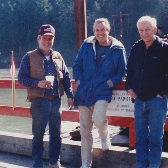Rick Vickery, Al Davidison, Reg Labinsky