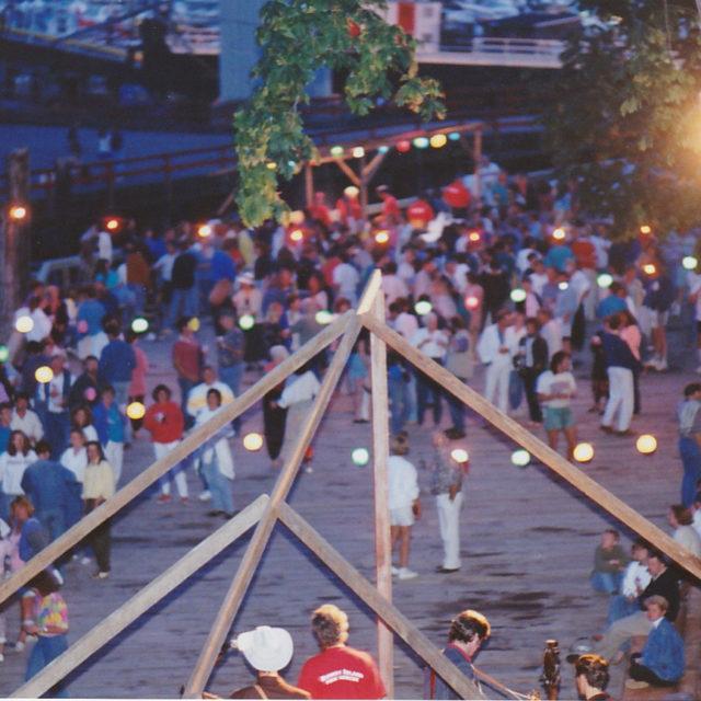 The First Firemens Dock Dance
